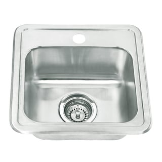 Yosemite Home Decor Stainless Steel Topmount Sink