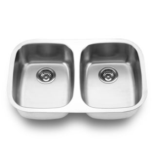 Undermount Double Bowl Sink (Undercounter Installation)