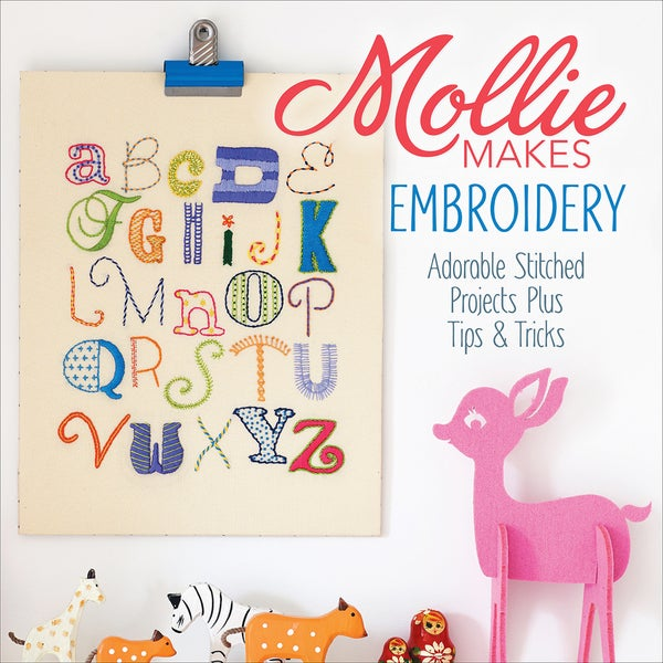 Interweave Press-Mollie Makes Embroidery