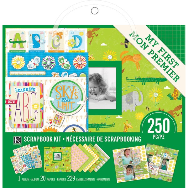 "Scrapbook Kit 8""X8""-My 1st Scrapbook"