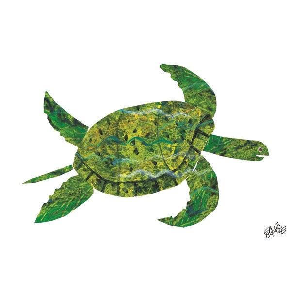Eric Carle Panda Bear Character Art Turtle Canvas Art
