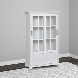 Altra Bookcase with Sliding Glass Doors