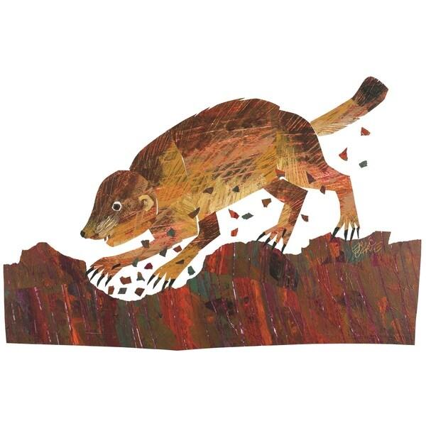 Baby Bear Character Art Prairie Dog Canvas Print by Eric Carle