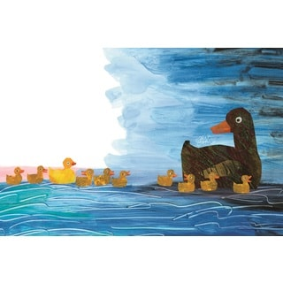 10 Little Rubber Ducks Character Art Ducklings 2 Canvas Art by Eric Carle