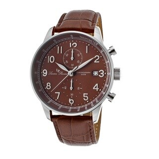 Lucien Piccard Men's LP-10503-04-BR Montilla Brown Watch
