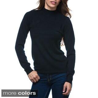 Bacci Women's Long Sleeve Turtleneck Sweater