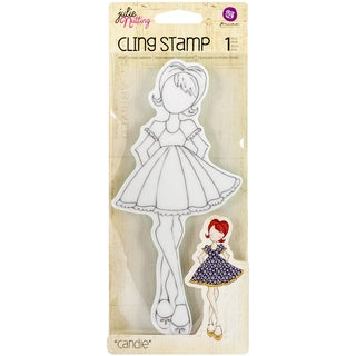 Julie Nutting Mixed Media Cling Rubber Stamps-Candie