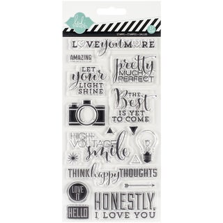 """September Skies Clear Stamps 4""""X8"""""""