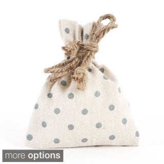 Dotted Design Gift and Bottle Bags - set of 6