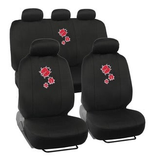 BDK Lady Bug Car Seat Covers Full Set (Universal Fit)