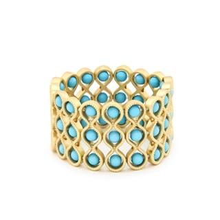 Lolita Jewelry Textured Stretch Wave Bracelet