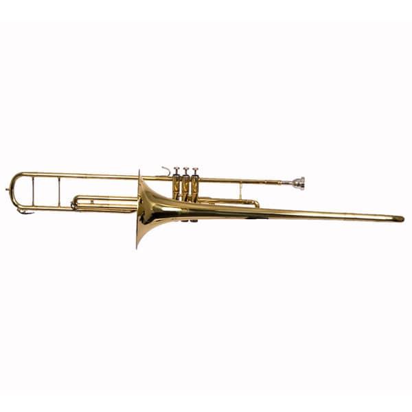 Bb Slide Valve Trombone with Travel Case