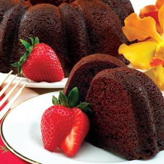 Double Double Chocolate Chip Bundt Cake