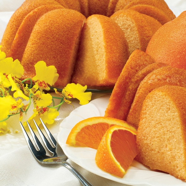 Orange Zest Bundt Cake