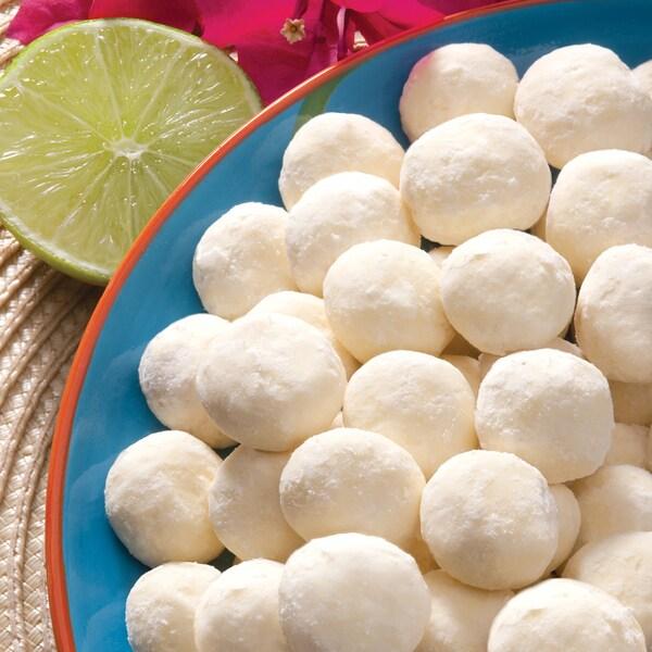 Key Lime Thimble Cookies