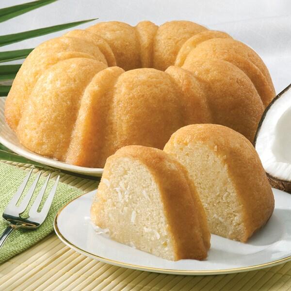 Tropical Coconut Bundt Cake