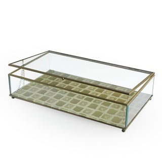 Gold Tile Glass Medium Display Box