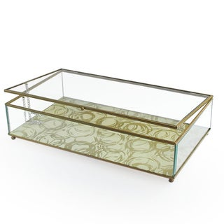 Circles Gold Glass Medium Display Box