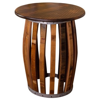 Stave and Hoop End Table