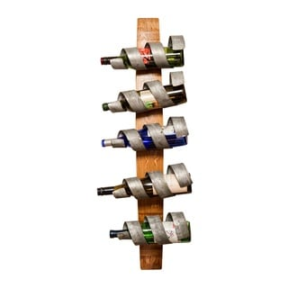 Single Hoop Spiral Wine Rack