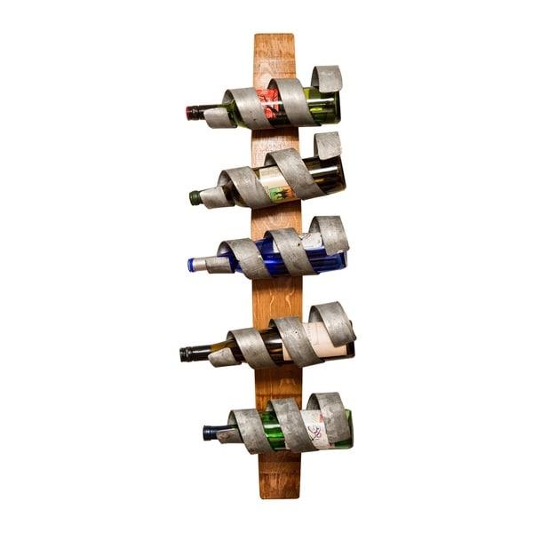 Single Hoop Spiral Wine Rack