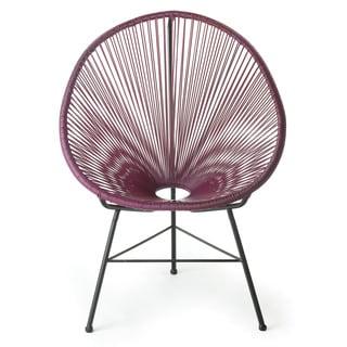 Design Tree Home Acapulco Purple Lounge Chair (China)