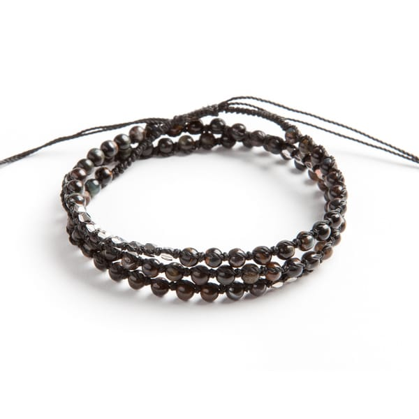 Noir Unique Wrap Bracelet (Guatemala)