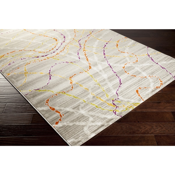 Meticulously Woven Dexter Abstract Area Rug-(5'2 x 7'6)