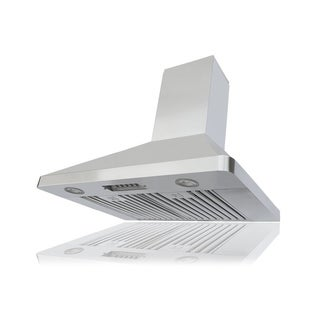 Kobe Brillia OVS-RAX9430SQB-40 30-inch LED Lit Range Hood with QuietMode
