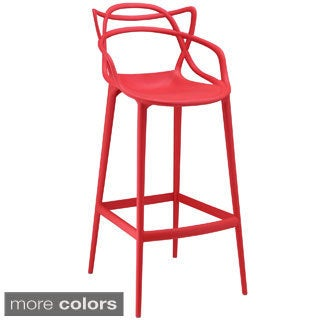 Modway Plastic Entangled Bar Stool