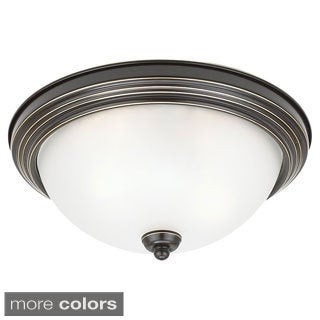 Seagull Lighting 3-Light Flush Ceiling Light