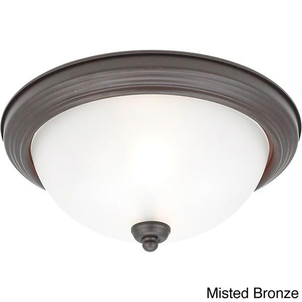 Seagull Lighting 3-Light Flush Ceiling Light