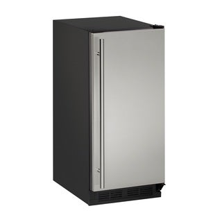 U-Line 1000 Series 15-inch Stainless Steel Clear Ice Machine without Pump