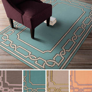 Beth Lacefield Hand-woven Newhaven Reversible Wool Rug (8' x 11')