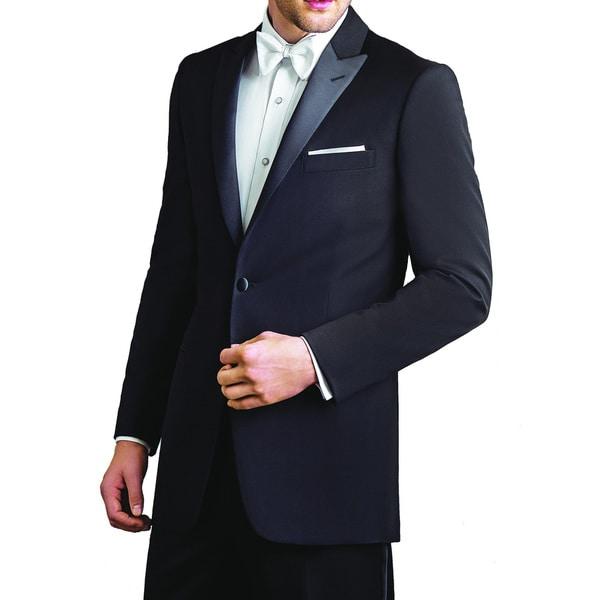 Ike Evening by Ike Behar Super 120's Wool Two Button Peak Tuxedo