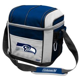 Coleman NFL Seattle Seahawks Soft Sided 24 Can Cooler