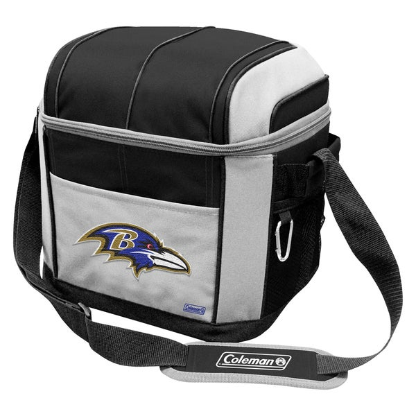 Coleman NFL Baltimore Ravens Soft Sided 24 Can Cooler