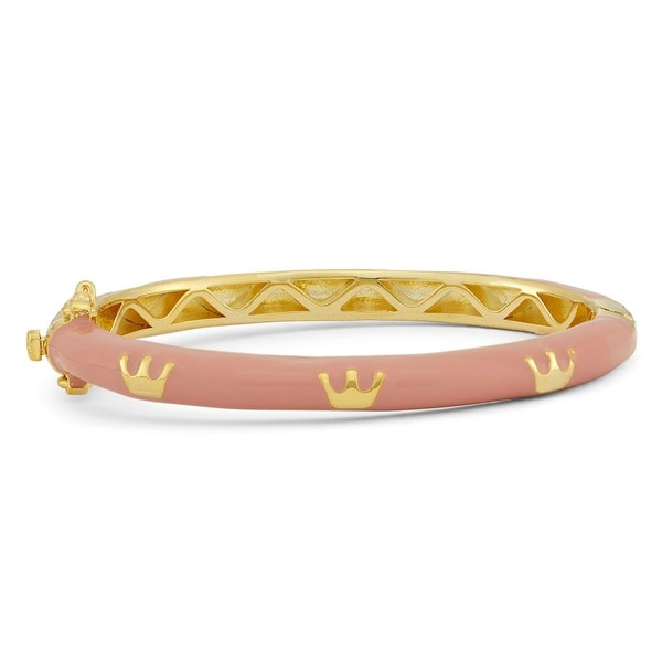 Junior Jewels Enamel Royal Crown Bangle 14367761
