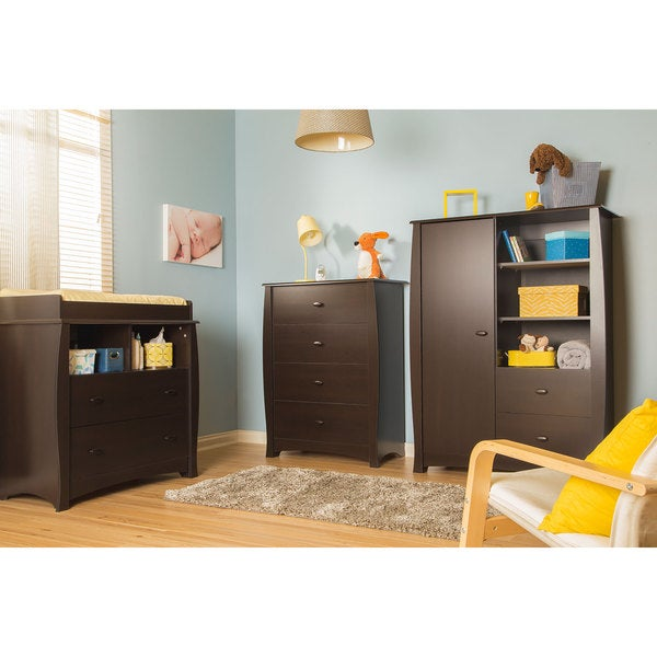 Beehive Changing Table with Removable Changing Station and Armoire 14368080