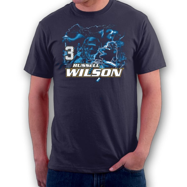 Seattle Football Russel Wilson T-shirt