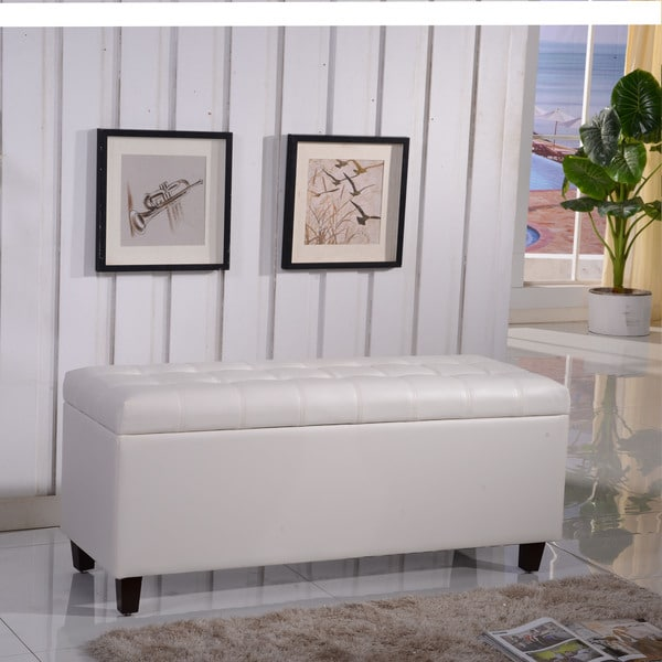 Royal Comfort Collection Luxury Storage Bench Ottoman 14368445