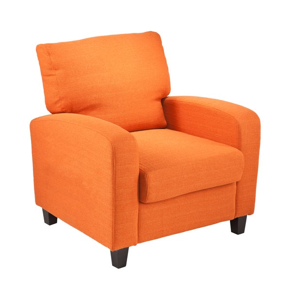 Killian Orange Arm Chair