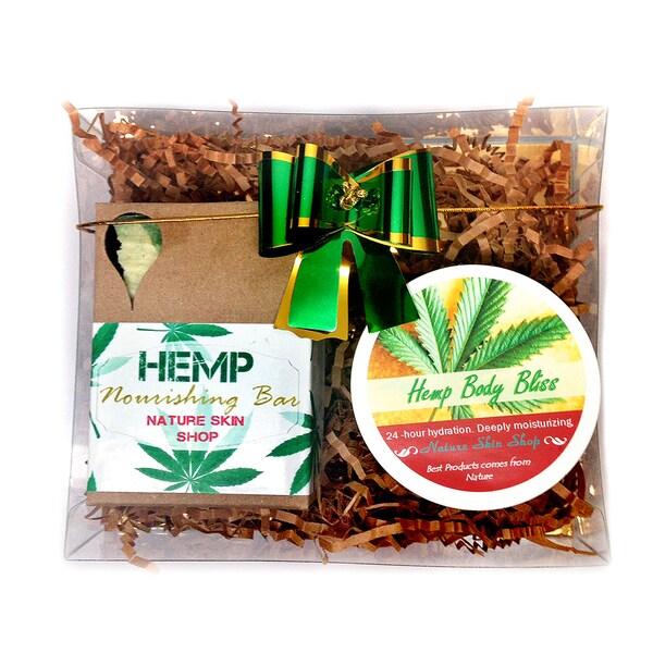 Rejuvenate Hemp Gift Set (Hemp Soap and Hemp Butter Bliss)