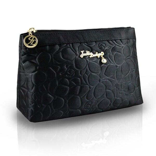 Jacki Design Royal Blossom Flat Cosmetic Bag