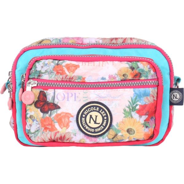 Nicole Lee Xochil Print Wrinkle-resistent Crinkle Nylon Multi-bag