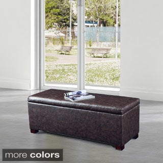 Luxury Classic Storage Bench Ottoman