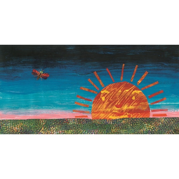 Eric Carle The Very Lonely Firefly Character Art Sunset Canvas Print