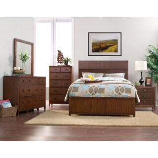 American Lifestyle Loft 4-Piece Panel Bed Set