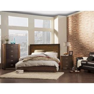 2 Espresso 4-piece Bedroom Set
