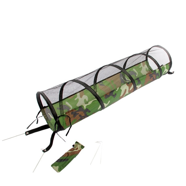 Collapsible Camo Cat Play Tunnel